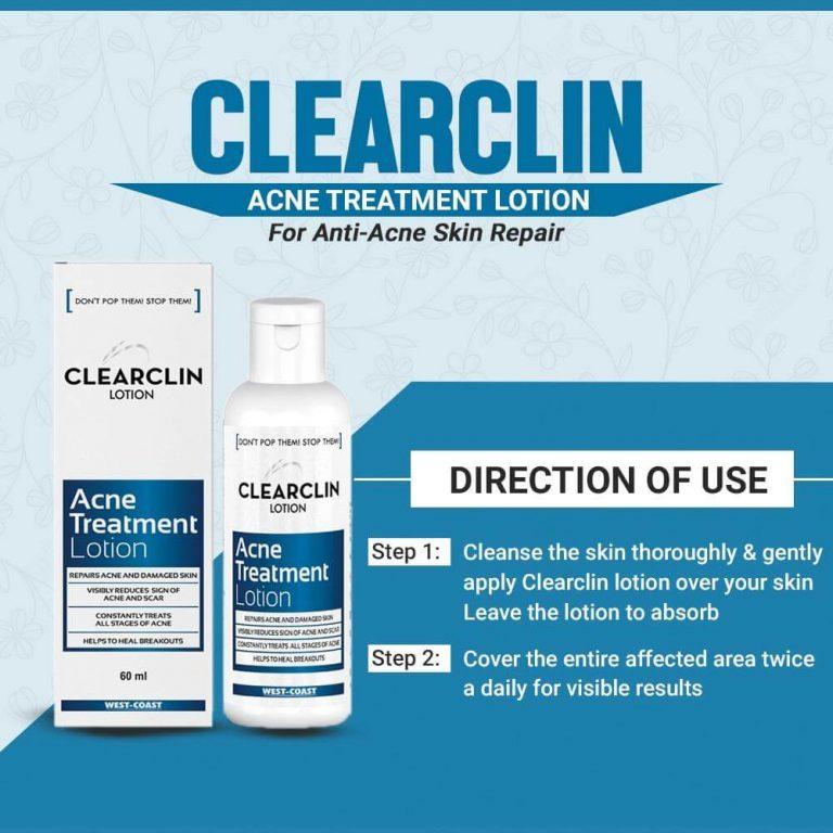 Acne treatment lotion ladermique